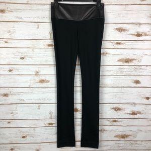 Marciano Cassie Leather Trim Skinny Pants